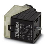 Штекерный модуль для электромагнитного клапана - SACC-V-3CON-M16/A-1L-S - 1544714
