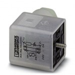 Штекерный модуль для электромагнитного клапана - SACC-V-3CON-PG9/A-GVL 12/24 - 1533291