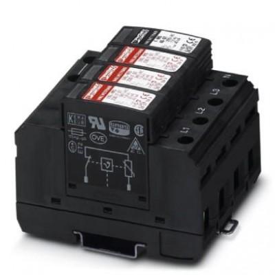 Разрядник для защиты от импульсных перенапряжений, тип 2 - VAL-MS 320/3+1 - 2859178