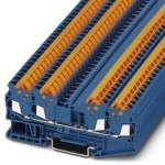 Проходные клеммы - QTC 1,5-QUATTRO BU - 3205080