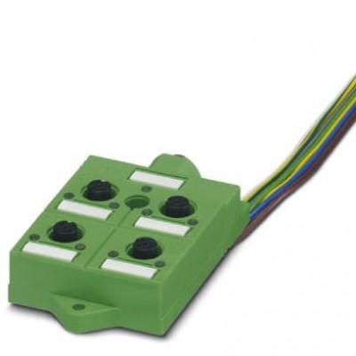 Коробка датчика и исполнительного элемента - SACB-4/ 4-L- 0,5 OTB - 1695964