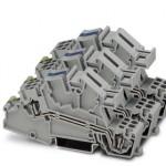 Заземляющие клеммы для выполнения проводки в зданиях - STI 2,5-1PE/3L/1NT - 3038053