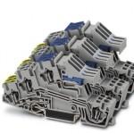 Заземляющие клеммы для выполнения проводки в зданиях - STI 2,5-3PE/3L/3NT - 3038079