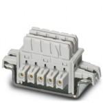 Шинные соединители на DIN-рейку - ME 6,2 TBUS-2 1,5/5-ST-3,81KMG - 2969401