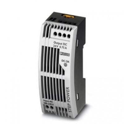 Источники питания - STEP-PS/ 1AC/24DC/0.75/FL - 2868622