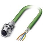 Сетевой кабель - VS-OE-M12FSBP-93B-LI/2,0 - 1416155