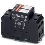 Разрядник для защиты от импульсных перенапряжений, тип 2 - VAL-MS 230/2+0 - 2800103