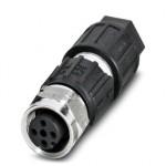 Соединитель для датчика/исполнительного устройства - SACC-M12FS-4QO-0,34-VA - 1440766