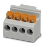 Клеммные блоки для печатного монтажа - FKDSO 2,5/ 4-L KMGY - 2200319