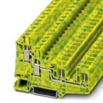 Клемма защитного провода - UT 6-QUATTRO/2P-PE - 3060584