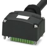 Разъем с кабелем - SACB-C-H180-4/ 4- 5,0PUR SCO P - 1453054