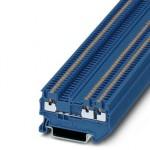 Проходные клеммы - PT 1,5/S-TWIN BU - 3208168
