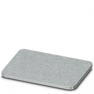 Алюминиевая табличка - EMP-AL (27X15) CUS - 0830798