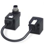Адаптер двойного разъема клапана - SAC-MS/0,1-116/2XA-1L-Z SCO - 1458101