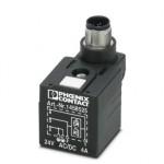 Штекерный модуль для электромагнитного клапана - SAC-3P-MS/A-1L-Z SCO - 1458525