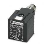 Штекерный модуль для электромагнитного клапана - SAC-3P-MR/A-1L-Z SCO - 1458538