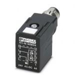 Штекерный модуль для электромагнитного клапана - SAC-3P-MR/B-1L-Z SCO - 1458554