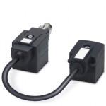 Адаптер двойного разъема клапана - SAC-MR/0,1-116/2XA-1L-Z SCO - 1458130