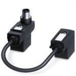 Адаптер двойного разъема клапана - SAC-MS/0,1-116/2XB-1L-Z SCO - 1458282