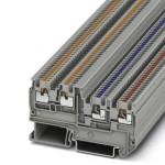 Клеммный модуль для подключения датчиков и исполнительных элементов - PTIO 1,5/S/3 - 3244410