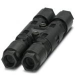 H-разветвитель - QPD H 4PE2,5 4X6-11 BK - 1406368