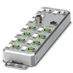 Децентрализ. устройство ввода-вывода - AXL E EC DIO16 M12 6M - 2701528