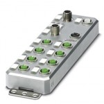 Децентрализ. устройство ввода-вывода - AXL E PB DI16 M12 6M - 2701505