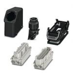 Комплект вставных соединителей - HC-EVO-B24PT-BWD-HH-M32-PLRBK - 1407713