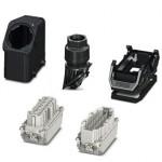 Комплект вставных соединителей - HC-EVO-B16PT-BWD-HH-M25-PLRBK - 1407712