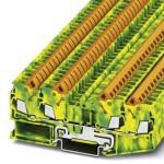 Клемма защитного провода - QTC 2,5-QUATTRO-PE - 3206448