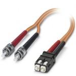Оптоволоконный патч-кабель - FOC-ST:A-SJ:A-GZ01/1 - 1409822
