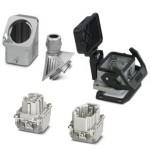 Комплект вставных соединителей - HC-EVO-B06PT-BWSC-HL-M20ELC-AL - 1411487