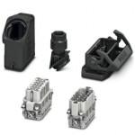 Комплект вставных соединителей - HC-EVO-A10UT-BWS-HH-M20-PLRBK - 1411356
