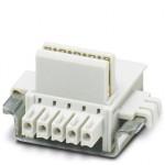 Шинные соединители на DIN-рейку - ME 22,5 TBUS 1,5/4P1S KMGY - 2201732