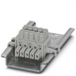 Шинные соединители на DIN-рейку - ME 6,2 TBUS-2 1,5/5-ST-3,81 GY - 2695439