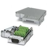 Шинный штекер D-SUB - SUBCON 15 HD/M-SH - 5604602