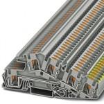 Заземляющие клеммы для выполнения проводки в зданиях - PTI 4-PE/L/L - 3214050