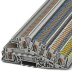 Заземляющие клеммы для выполнения проводки в зданиях - PTI 4-PE/L/N - 3214049