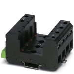 Базовый элемент для защиты от перенапряжений, тип 2 - VAL-MS/4+0-BE/FM RN. - 2906484