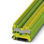 Клемма защитного провода - PT 2,5/S-QUATTRO-PE - 3211025