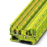 Schutzleiter-Reihenklemme - PT 4-TWIN/1P-PE - 3212202