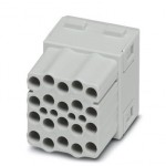 Модуль для установки контактов - HC-M-20-CT-F - 1414373