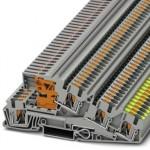 Заземляющие клеммы для выполнения проводки в зданиях - PTI 4-PE/L/LT - 3214048