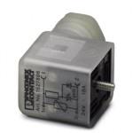 Штекерный модуль для электромагнитного клапана - SACC-V-3CON-PG9/BI-1L-SV 24V - 1527896