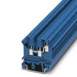 Проходные клеммы - UK 3-TWIN BU - 3002416