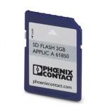 Модуль памяти настроек программ/конфиг. данных - SD FLASH 2GB APPLIC A 61850 - 2400436