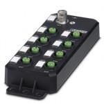 Децентрализ. устройство ввода-вывода - AXL E IOL DI8 M12 6P - 2702658
