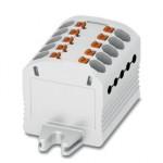 Распределительный блок - PTFIX 10X1,5-F WH - 3003038