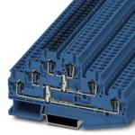 Многоярусный клеммный модуль - ST 2,5-3PV BU - 1025465