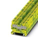 Клемма защитного провода - PT 2,5/S-QUATTRO-PE CUS - 3211030